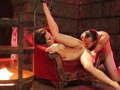 Sex hungry pornstar Asa Akira cant live a day without getting slam fucked in the anal