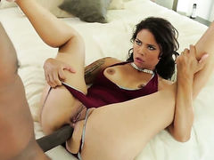 Dana Vespoli polishes Sean Michaelss rock hard love