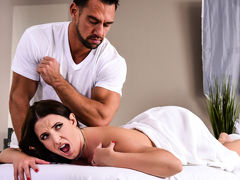 Angela White & Johnny Castle in The Wrong Massage Feels So Right - Brazzers