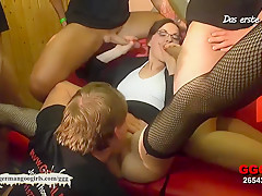 Incredible pornstar in Fabulous Bukkake, Cumshots xxx video