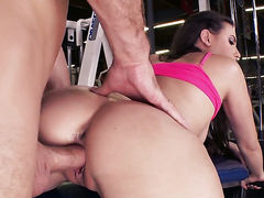 Casey Calvert with tiny boobs and hairless muff