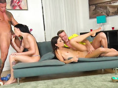 Sabby uses his beefy tool to bring blowjob addict Roxy Dee to