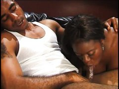 big ass busty ebony loves sucking cock