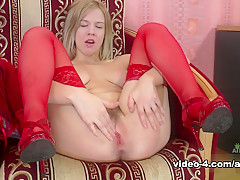 Horny pornstar in Fabulous Blonde, Hairy xxx video