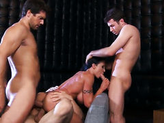 Ramon is one hard-cocked stud who loves