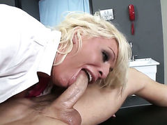 Sadie Swede gets mouth pounded by Johnny Sins