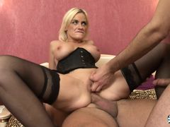 La Cochonne - Slutty French babe loves double penetration