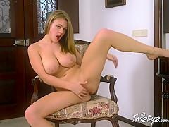 Crazy pornstar in Fabulous Solo Girl, Big Tits adult video