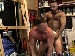 Alessio spreads open his ass and gets his tongue deep inside