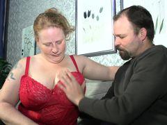 Deutschland Report - Mature BBW Iris K. in German porn