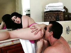 Billy Glide is horny and cant wait any longer to