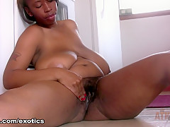 Horny pornstar in Exotic Black and Ebony, Softcore sex video