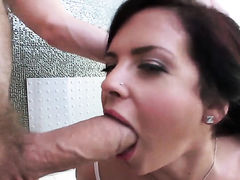 Keisha Grey is a blowjob addict and Danny D knows it