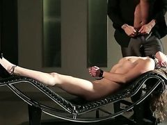 In this video we see the gorgeous Casey Calvert get all tied up. She
