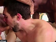 Men.com - Diego Sans and Griffin Barrows and
