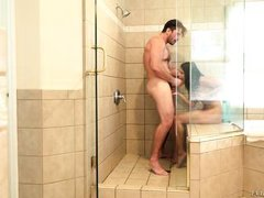 adriana fucked hard in shower
