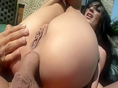 Amazing pornstar Alisha Sweet in horny small tits, anal sex video