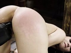 cruel master will prepare her mouth and throat for long fat dicks