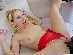 Ashley Fires fucks big fat black cock