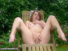 Amazing pornstar in Horny Outdoor, Masturbation sex video