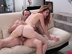 Amarna Miller in Dirty Deeds With Uncle Rich