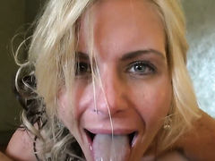 Phoenix Marie getting down and dirty in anal action