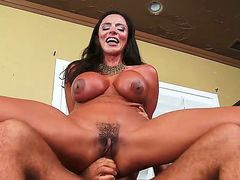 Ariella Ferrera is a hot milf any guy would wanna fuck. But Chad is much