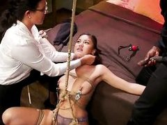 the young sex slave is the main element of their bdsm games