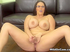 Horny pornstar Mackenzee Pierce in Exotic Solo Girl, BBW xxx video