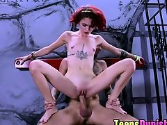 Sensual Lola Fae screw a large manhood for contentment
