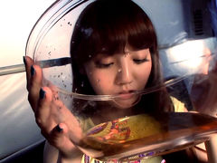 Rei Mizuna Drinks Piss And Fucks Two Homeless Men