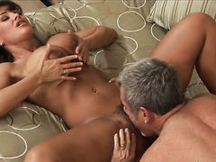 Brunette Jay Crew is good at fucking and her hot bang buddy knows it