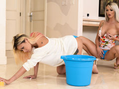 Brooke Paige & Marsha May in My Boyfriends Mom - Brazzers