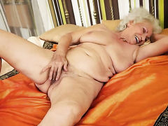 Norma with juicy knockers cant live a