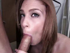 With big butt opens her love box to take meat stick