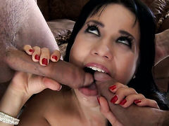 Teen hussy is on fire in this anal sex scene
