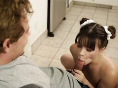 cock hungry alison rey sucks her stepbro's cock
