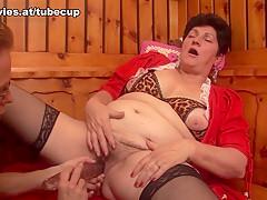 Exotic pornstars in Fabulous Stockings, Lesbian xxx clip