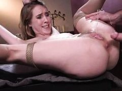 to fuck her wet pussy first, or to try her tight asshole?