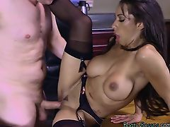 Chesty Executive Priya Price Gets Drilled And Creamed