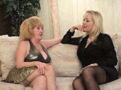 Granny shares lover with cougar