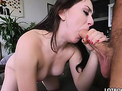 Biggest ass brunette babe Mandy Muse gets anal drilled