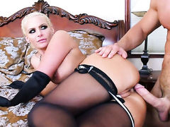 Johnny Castle whips out his tool to fuck