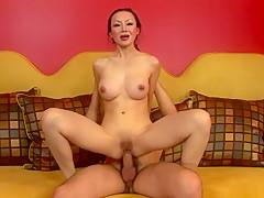 Best pornstar Ange Venus in fabulous asian, anal sex movie