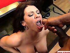 Big tits milf sex with facial