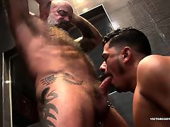 Nate and Cesar Shower Fucking
