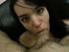Rocco Siffredi buries his sturdy worm in saucy Roxy Cs mouth