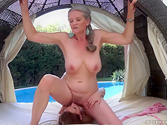 Hottest pornstars in Crazy Cunnilingus, Hairy porn scene